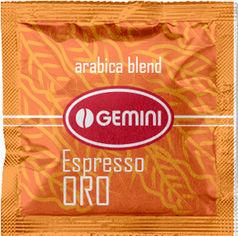 Акция на Кофе молотый в чалдах Gemini Espresso ORO 100 x 7 г (4820156430645) от Rozetka