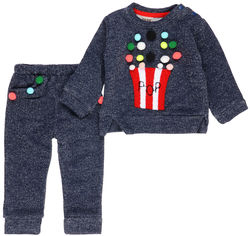 Спортивный костюм Soso Baby SOSO513 68 см Синий от Rozetka