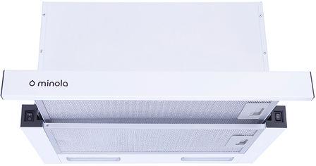 Акция на Вытяжка MINOLA HTL 6615 WH 1000 LED от Rozetka