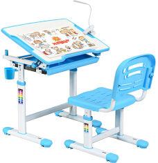 Акция на Комплект Evo-kids Evo-06 Blue (стол+стул) (Evo-06 Blue) от Rozetka