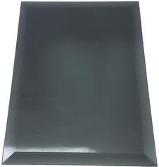 Акция на Зеркальная плитка UMT 400х600 мм фацет 15 мм графит (ПФГ 400-600) от Rozetka