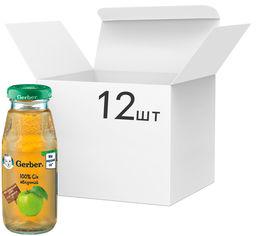 Упаковка Сока Gerber Яблоко с 6 месяцев 175 мл х 12 шт (7613033520495) от Rozetka