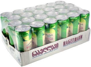 Упаковка минеральной газированной воды Набеглави Лимон-лайм 0.33 л х 24 банки (4865602001086) от Rozetka