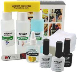 Акция на Стартовый набор Avenir Cosmetics для покрытия гель-лаком (4820440814304) от Rozetka