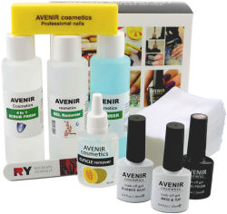 Стартовый набор Avenir Cosmetics для покрытия гель-лаком (4820440814304) от Rozetka