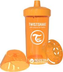 Детская чашка Twistshake 360 мл Оранжевая (7350083120700) от Rozetka
