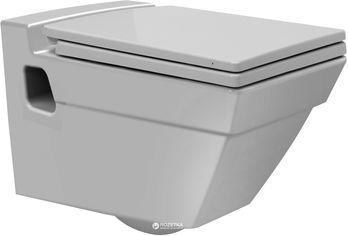 Унитаз подвесной CERASTYLE Mona 018000 + сиденье Slim Soft Close 9SC1301000 от Rozetka