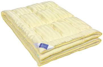Акция на Одеяло шерстяное MirSon Экстра Премиум Carmela Hand Made 0343 деми 155x215 см (2200000450517) от Rozetka