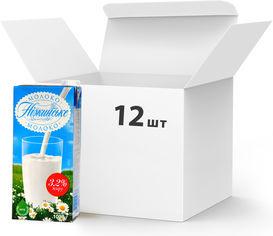 Упаковка молока ультрапастеризованного Нiжинське 3.2% 1027 г х 12 шт (4820111645718) от Rozetka