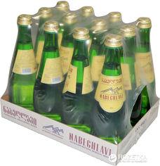 Акция на Упаковка минеральной газированной воды Набеглави 0.5 л х 12 бутылок (4865602000010) от Rozetka
