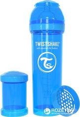 Акция на Антиколиковая бутылочка Twistshake 330 мл Голубая (7350083120144) от Rozetka