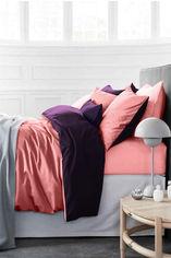 Акция на Комплект постельного белья MirSon Сатин Premium Pion 0132+3220 200х220 (2200000688729) от Rozetka