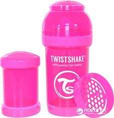 Антиколиковая бутылочка Twistshake 180 мл Розовая (7350083120014) от Rozetka