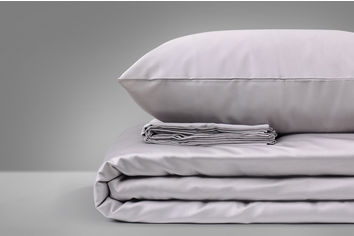 Акция на Комплект постельного белья Mirson Сатин Premium Skyline 0251 143х210х2 (2200000671530) от Rozetka