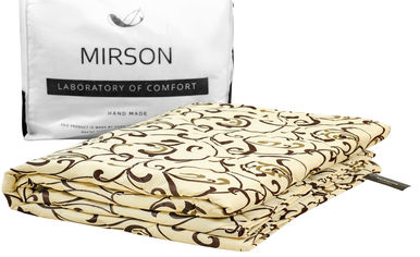 Акция на Одеяло шерстяное MirSon 016 лето 200x220 см (2200000005724) от Rozetka