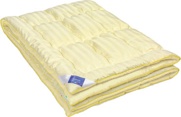 Акция на Одеяло Антиаллергенное MirSon Carmela Eco-Soft Hand Made 839 деми 172x205 см (2200000621726) от Rozetka