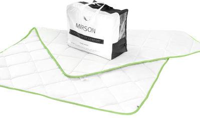 Акция на Одеяло антиаллергенное MirSon EcoSilk 002 деми 155x215 см (2200000005458) от Rozetka