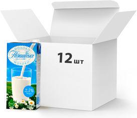 Упаковка молока ультрапастеризованного Нiжинське 2.5% 1027 г х 12 шт (4820111645701) от Rozetka