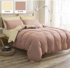 Комплект постельного белья Mirson Бязь Enrica (12-0712 + 15-1511) 175х210 (2200000799951) от Rozetka