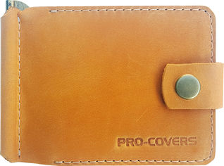 Акция на Зажим для денег Pro-Covers PC03980037 Желтый (2503980037007) от Rozetka