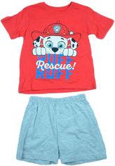 Костюм (футболка + шорты) Disney Paw Patrol SE2063 98 см Красный (3609083460908) от Rozetka