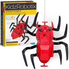 Акция на Набор для конструирования 4M Робот-паук (00-03392) (4893156033925) от Rozetka