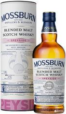 Акция на Виски Mossburn Speyside Blended Malt Scotch Whisky 0.7 л 46% (5060033847107) от Rozetka