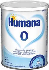 Акция на Молочная сухая смесь Humana 0 mit LC PUFA 400 г (4031244781819) от Rozetka