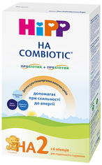 Акция на Детская сухая гипоаллергенная молочная смесь HiPP НА Combiotic 2 350 г (9062300133575) от Rozetka