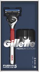 Акция на Подарочный набор Gillette Бритва Fusion5 ProGlide + Магнитная подставка (7702018510955) от Rozetka