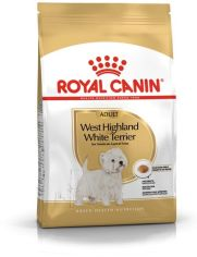 Акция на Сухой полнорационный корм Royal Canin West Highland White Terrier Adult для взрослых и стареющих собак породы Вест-хайленд-уайт-терьер в возрасте 10 месяцев и старше 3 кг (3182550811774) от Rozetka