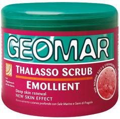 Акция на Скраб для тела Geomar Body Thalasso смягчающий с Морскою солью и семенами Клубники 600 г (8003510022953) от Rozetka
