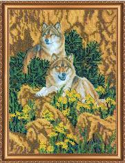 Набор для вышивки бисером Абрис Арт на натуральном художественном холсте Верность (AB-121) от Rozetka