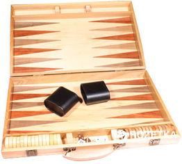 Набор Duke для игры в нарды (Тиковое дерево) (AD1802-01) от Rozetka