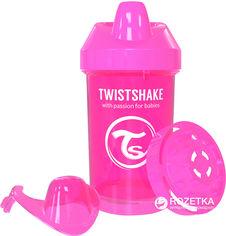 Акция на Чашка-непроливайка Twistshake 300 мл Розовая (7350083120588) от Rozetka