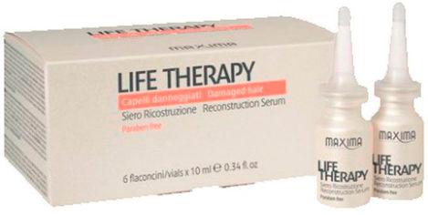 Акция на Сыворотка Maxima для поврежденных волос Life Therapy 6х12 мл (8030778700880) от Rozetka
