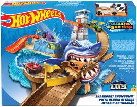 Автотрек Hot Wheels Охота на акулу серии Измени цвет (BGK04) от Rozetka
