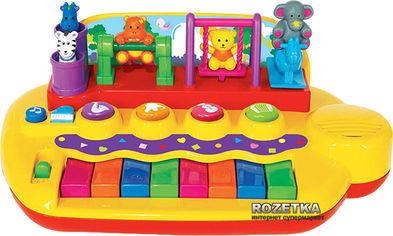 Акция на Игрушка Пианино Зверята на качелях Kiddieland (033423) от Rozetka