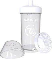 Детская чашка Twistshake 360 мл Белая (7350083120731) от Rozetka
