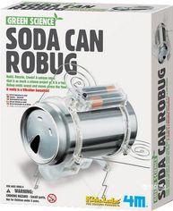 Набор для конструирования 4M Робот-жук из жестянки (00-03266) (4893156032669) от Rozetka