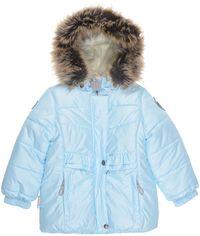 Акция на Зимняя куртка Lenne Perle 19332/400 92 см Голубая (4741578402037) от Rozetka