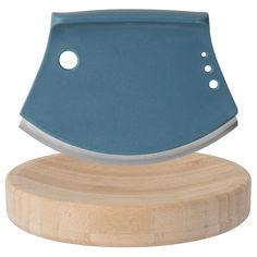 Акция на Кухонный нож-лезвие BergHOFF для зелени с доской (3950021) от Rozetka