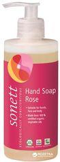 Акция на Органическое жидкое мыло Sonett роза 300 мл (4007547205048) от Rozetka