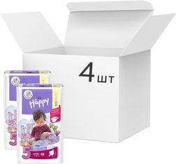 Акция на Упаковка детских подгузников Bella Baby Happy Junior 12-25 кг 4 пачки по 58 шт (BB-054-JU58-016/BB-054-JU58-023) от Rozetka