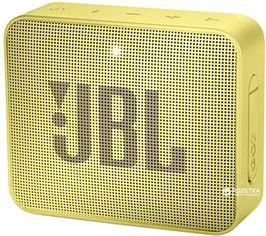 Акция на Акустическая система JBL Go 2 Yellow (JBLGo2YEL) от Rozetka