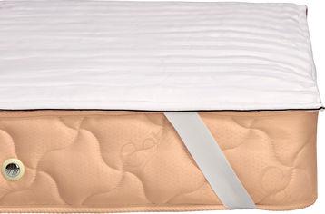 Акция на Наматрасник хлопковый MirSon Royal Pearl Waterproof Cotton 272/3 90x200 (2200000339744) от Rozetka