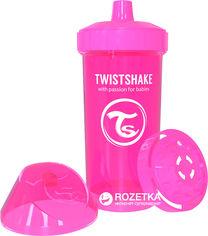 Детская чашка Twistshake 360 мл Розовая (7350083120687) от Rozetka