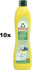 Акция на Упаковка чистящего молочка Frosch Лимон 500 мл х 10 шт (4009175070593) от Rozetka