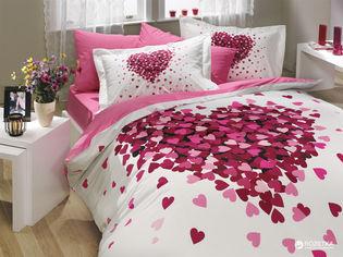 Акция на Комплект постельного белья Hobby Poplin Juana 200x220 (8693678546820) от Rozetka