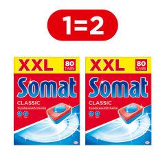 Акция на Таблетки для посудомоечной машины Somat Classic 80 шт (9000101067392) от Rozetka